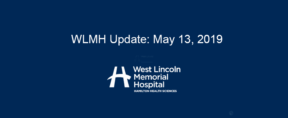 WLMH Update - May 13 2019